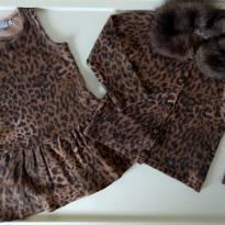 Conjuntinho vestido e casaco de Lã - MIXED KIDS - 2 anos - MIxed Kids