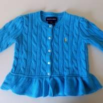 Casaquinho azul RALPH LAUREN - 1 ano - Ralph Lauren