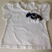 Camiseta com laços SILMARA - 1 ano - Silmara