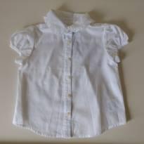 Camisa branca RALPH LAUREN - 1 ano - Ralph Lauren