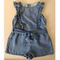 Macaquinho jeans ZARA BabyGirl - 2 anos - Zara Baby