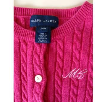 Casaquinho  RALPH LAUREN - 2 anos - Ralph Lauren