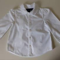 Camisa branca RALPH LAUREN - 18 meses - Ralph Lauren
