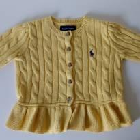 Casaquinho amarelo RALPH LAUREN - 1 ano - Ralph Lauren