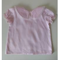 Camisa rosa Delicada!!!  SILMARA - 1 ano - Silmara