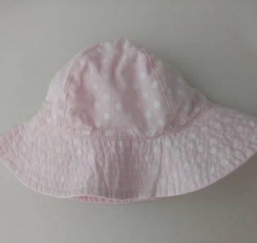 Chapéu rosa com bolinhas - Carter
