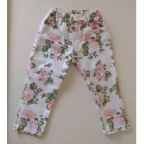 Calça florida CHEEKY - 12 a 18 meses - Cheeky