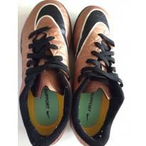 Chuteira -Dourada Nike - 31 - Nike