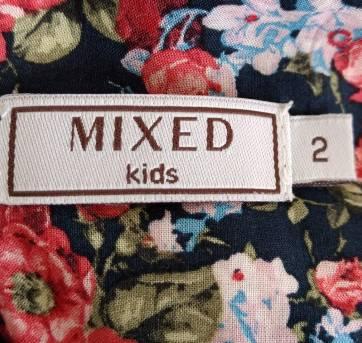 Vestido estampado flores MIXED KIDS - 2 anos - MIxed Kids