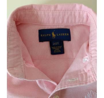 Camisa Rosa Ralph Lauren - 2 anos - Ralph Lauren