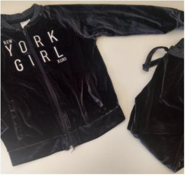 Conjunto Agasalho de Plush - Zara Girls - 5 anos - Zara