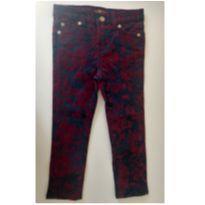 Calça jeans com estampa em camurça - FOR ALL 7 MANKING - 3 anos - For All 7 Manking
