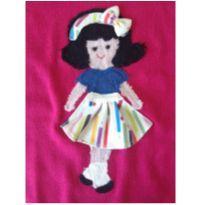 Blusa com aplique Menina de laço MIXED KIDS - 4 anos - MIxed Kids