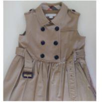 Vestido Sleeveless Trench BURBERRY - 4 anos - Burberry