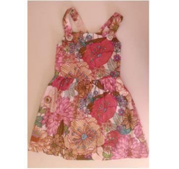 Vestido de alças estampado Zara Girls - 5 anos - Zara