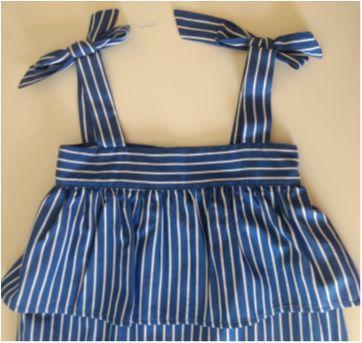 Vestido listrado MIXED KIDS - 2 anos - MIxed Kids