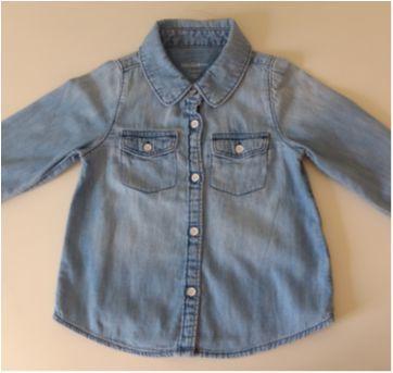 Camisa jeans BABY GAP - 3 anos - Baby Gap