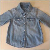 Camisa jeans BABY GAP - 3 anos - Baby Gap