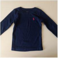 Camiseta manga longa POLO RALPH LAUREN - 2 anos - Ralph Lauren