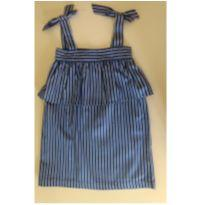 Vestido listrado MIXED KIDS - 2 anos - MIxed Kids