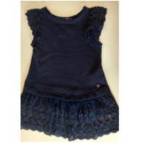 Vestido com babado de renda MIXED KIDS - 2 anos - MIxed Kids