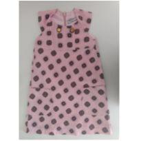 Vestido rosa estampado MIXED KIDS - 2 anos - MIxed Kids