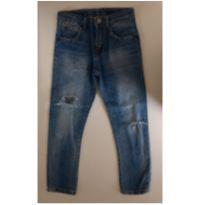 Calça jeans destroyed ZARA BOYS - 7 anos - Zara