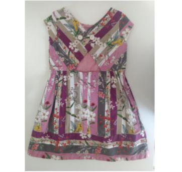 Vestido estampado ZARA KIDS - 6 anos - Zara