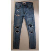 Calça jeans super skinny ABERCROMBIE KIDS - 9 anos - Abercrombie