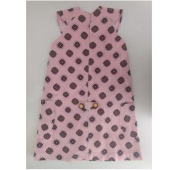 Vestido rosa estampado MIXED KIDS - 2 anos - MIxed Kids