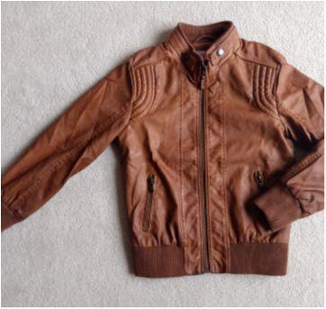 Jaqueta de couro ZARA - 6 anos - Zara
