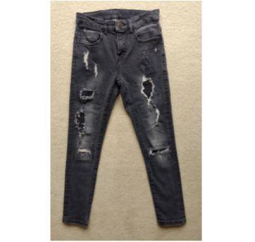 Calça jeans destroyed ZARA BOYS - 9 anos - Zara
