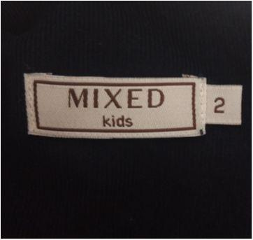 Vestido azul marinho MIXED KIDS - 2 anos - MIxed Kids