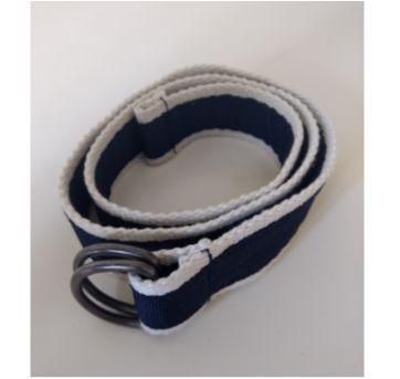Cinto de lona azul e branco - Sem faixa etaria - Zara