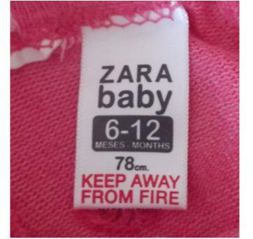 Meias rosa - 6 meses - Zara