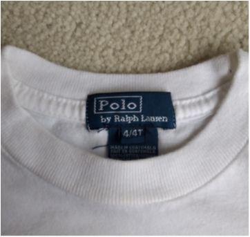 Camiseta branca  POLO RALPH LAUREN - 4 anos - Ralph Lauren