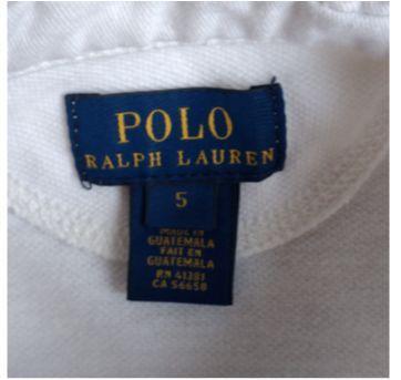 Camiseta  POLO RALPH LAUREN  manga longa - 5 anos - Ralph Lauren