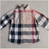 Camisa XADREZ LONDON BURBERRY Children - 8 anos - Burberry