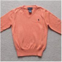 Suéter gola V Polo Ralph Lauren - 5 anos - Ralph Lauren