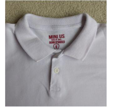 Camiseta polo MINI US - 8 anos - Mini Us