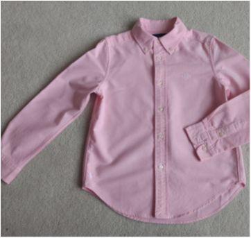 """Camisa Ralph Lauren com MONOGRAMA """"JGC"""" - 5 anos - Ralph Lauren"""