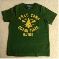 Camiseta Polo Ralph Lauren Camp - 4 anos - Ralph Lauren