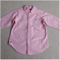 """Camisa Ralph Lauren com MONOGRAMA """"JG"""" - 4 anos - Ralph Lauren"""