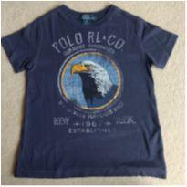 Camiseta estampa Águia Polo Ralph Lauren - 5 anos - Ralph Lauren