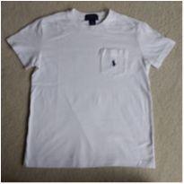 Camiseta  POLO RALPH LAUREN  branca - 6 anos - Ralph Lauren