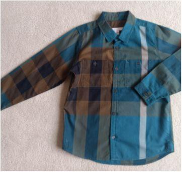 Camisa Xadrez BURBERRY Children - 7 anos - Burberry