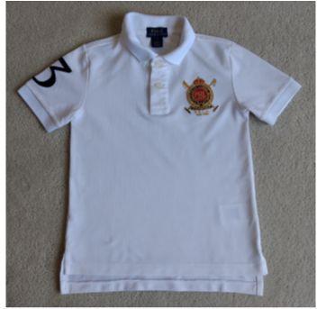 Camiseta branca  POLO RALPH LAUREN - 5 anos - Ralph Lauren