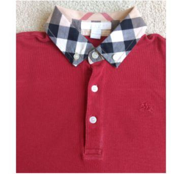 Camiseta gola polo BURBERRY - 8 anos - Burberry