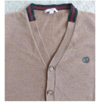 Suéter gola  V  botões GUCCI - 8 anos - Gucci