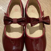 Sapato Laço - Vinho - 25 - DPAM (Du Pareil Au Même)